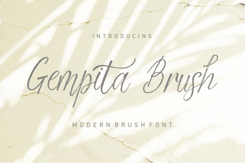 gempita-brush