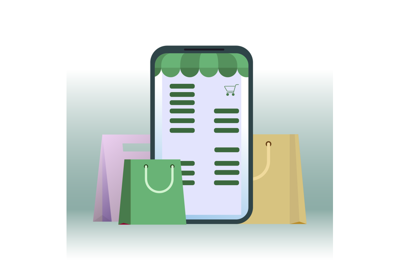 shopping-online-retail-in-smartphone