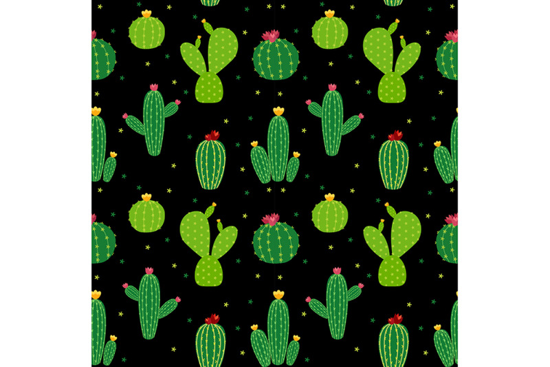 collection-of-nbsp-5-abstract-seamless-pattern-background-with-cactus