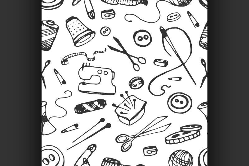 doodle-pattern-of-tailor-business