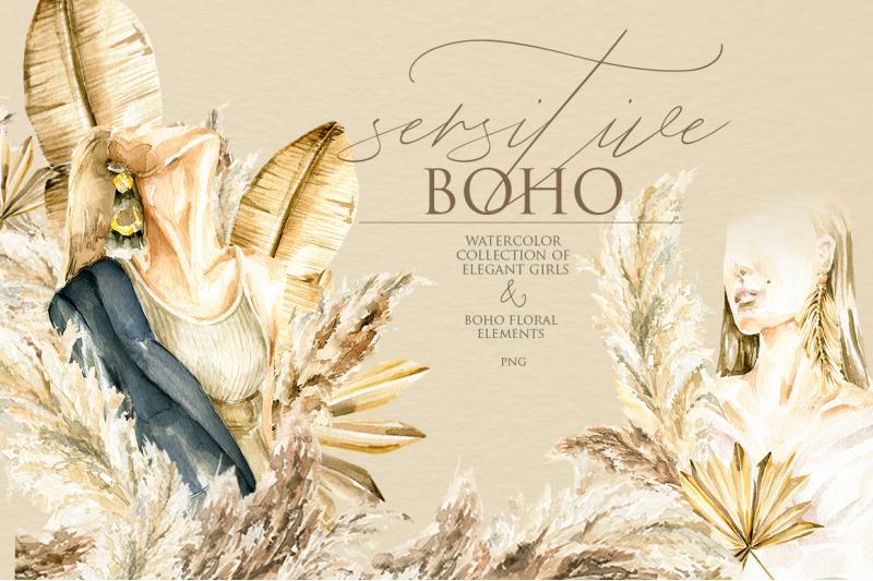 sensitive-boho-watercolor-collection