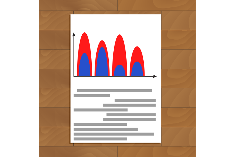document-with-wave-color-chart