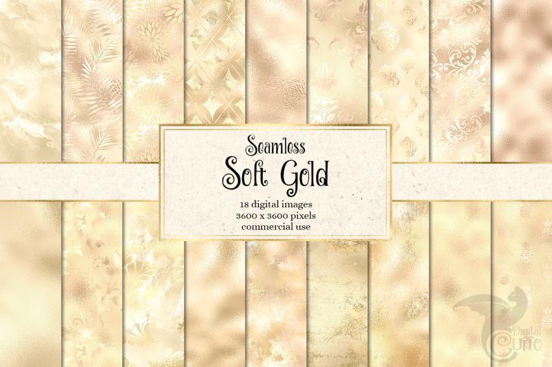 soft-gold-digital-paper