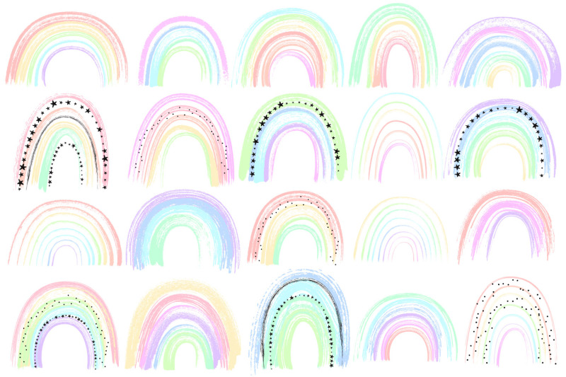 abstract-pastel-rainbow-clipart