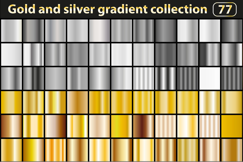 gold-and-silver-gradient-collection
