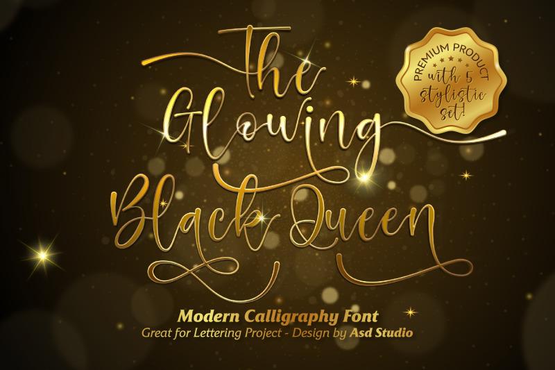 the-glowing-black-queen
