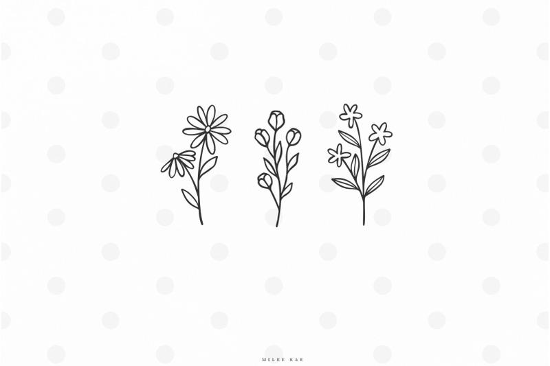 wildflowers-svg-cut-file