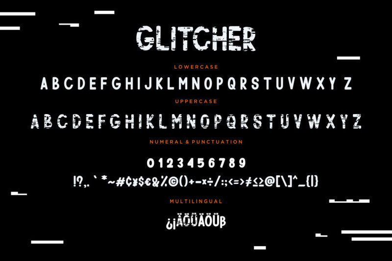 glitcher-sans-serif-display
