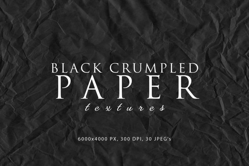 black-crumpled-paper-textures