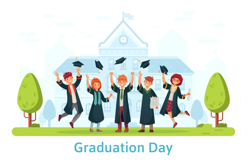 graduation-day-happy-students-celebrating-and-jumping