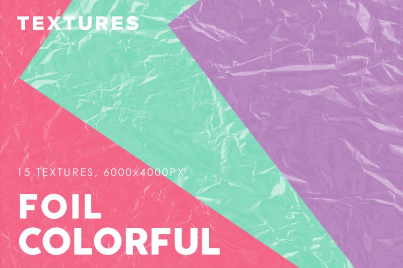 colorful-foil-textures