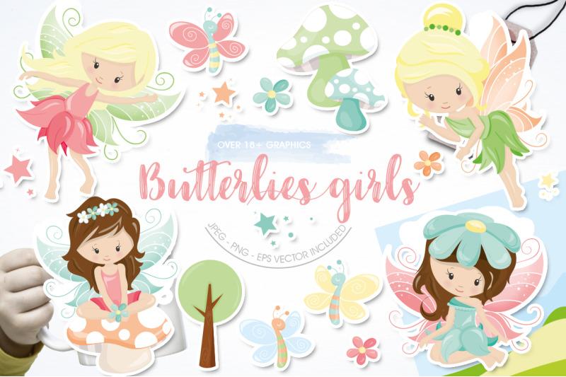 butterflies-girls