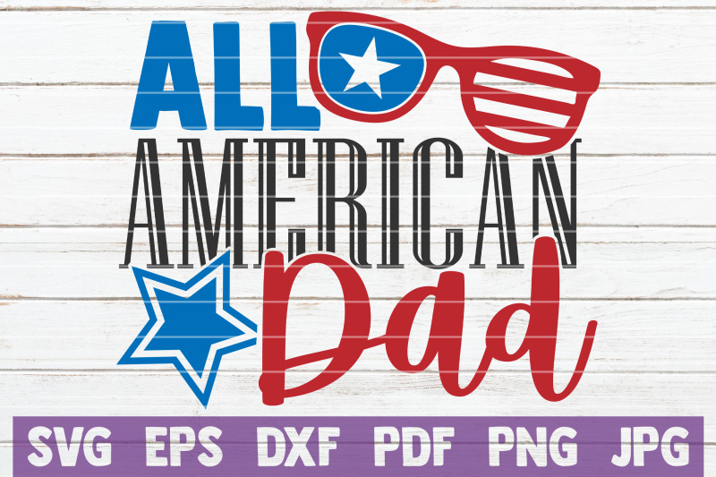 all-american-dad-svg-cut-file
