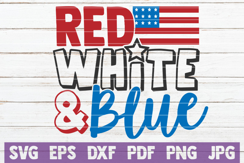red-white-and-blue-svg-cut-file