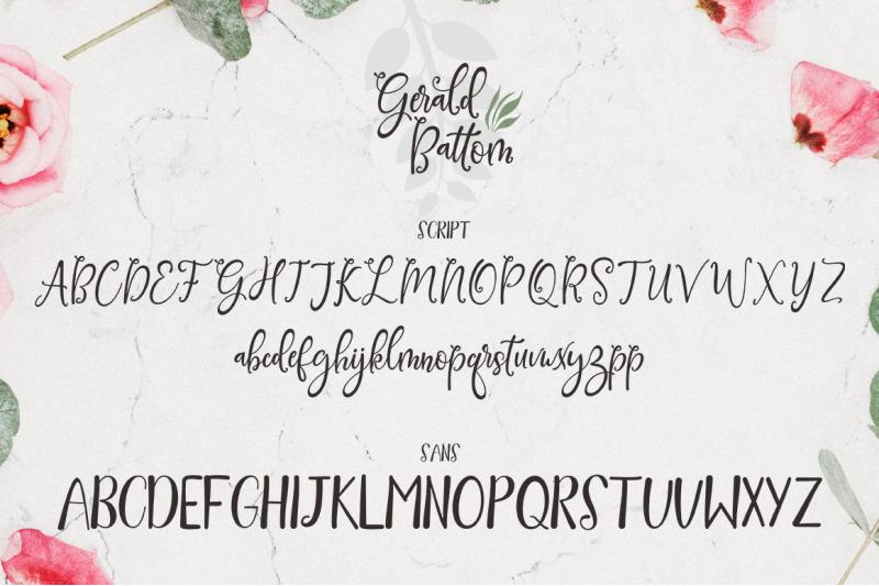gerald-battom-font-duo