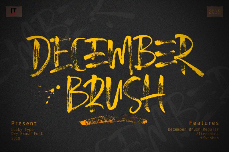 december-brush