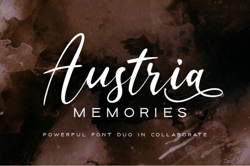 austria-memories-font-duo