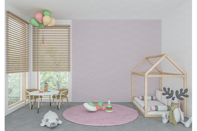 Download Interior scene - artwork background - interior mockup Free Mockups