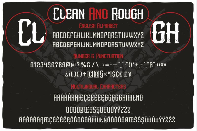 metalcore-font-duo