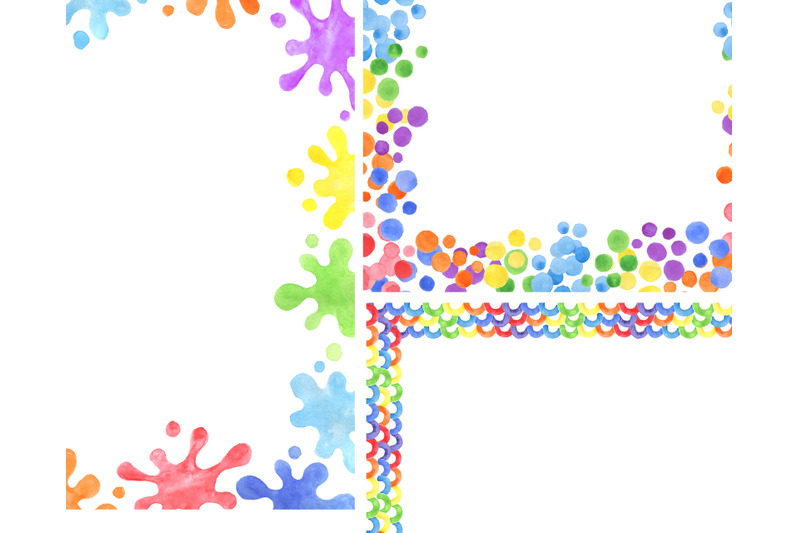 watercolor-rainbow-frame-border-clipart-baby-shower-card-png