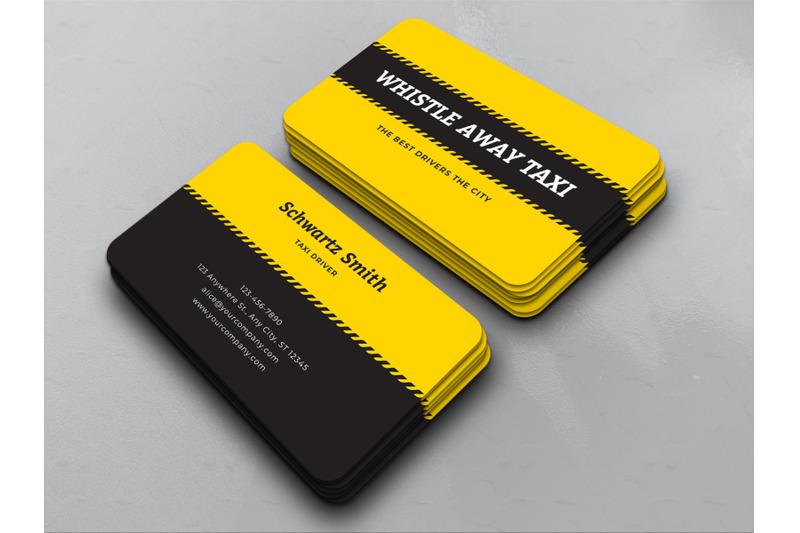 taxi-cab-service-business-card