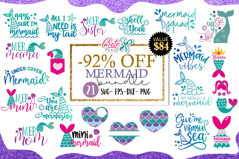 mermaid-bundle-svg-cut-file-for-crafters