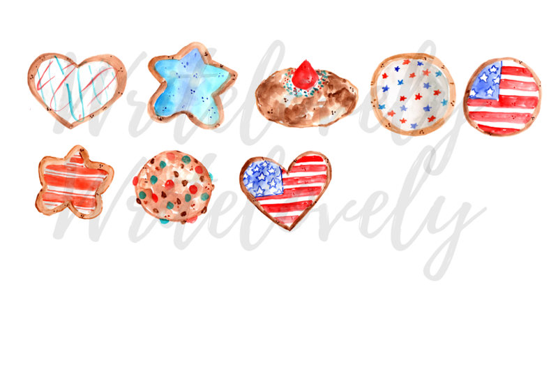 watercolor-forth-of-july-cookies-clipart
