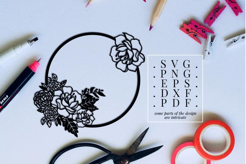 peony-wreath-1-papercut-template-flower-decor-svg-pdf-dxf