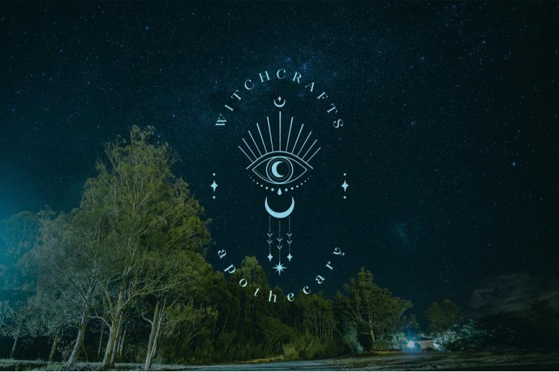 premade-moon-eye-brand-logo-design-for-blog-or-small-business