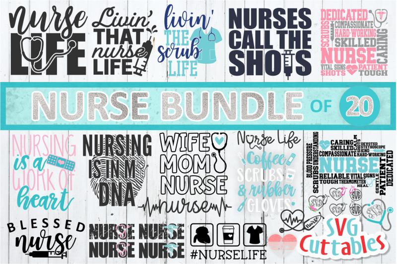 nurse-svg-bundle