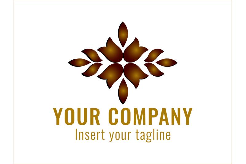 logo-gradation-icon-flower-and-leaf