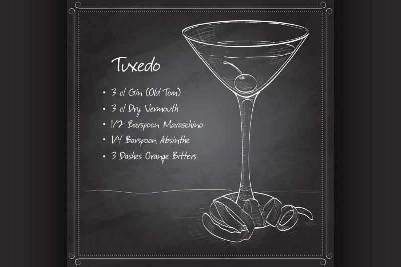tuxedo-cocktail-on-black-board