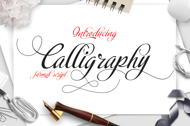 caligraphy-script