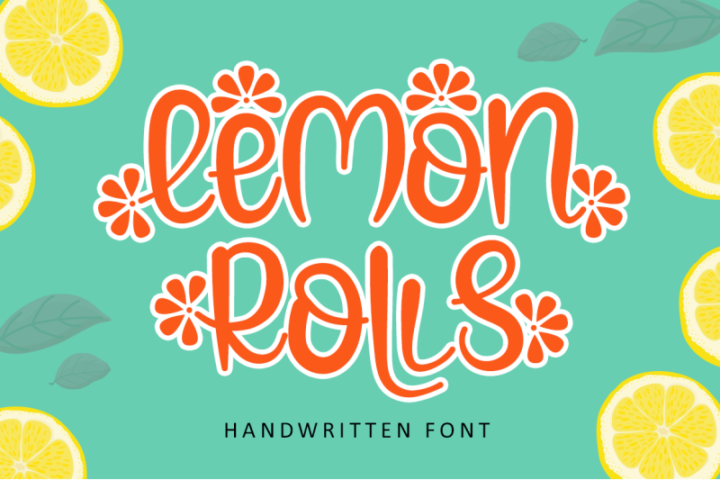 Lemon Rolls - A Cute and Quirky Font