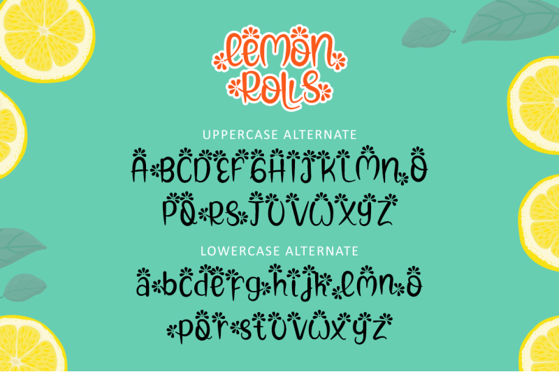 lemon-rolls-a-cute-and-quirky-font