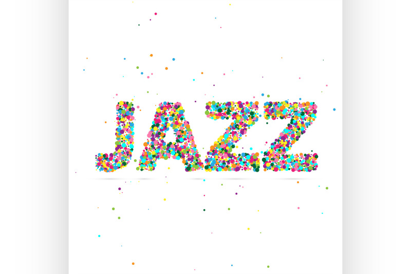 jazz-word-consisting-of-colored-particles