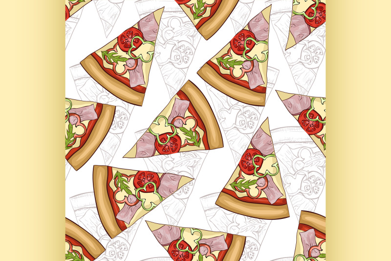 seamless-pattern-scetch-and-color-pizza-with-bacon