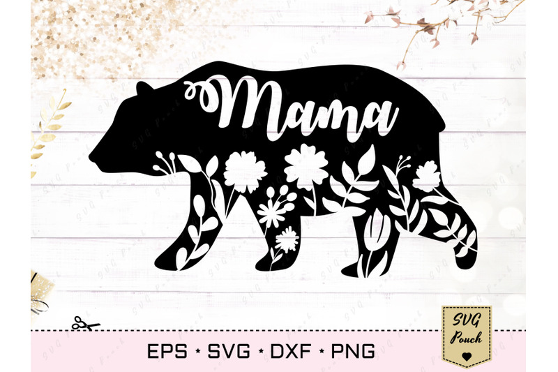 mama-bear-svg-floral-silhouette
