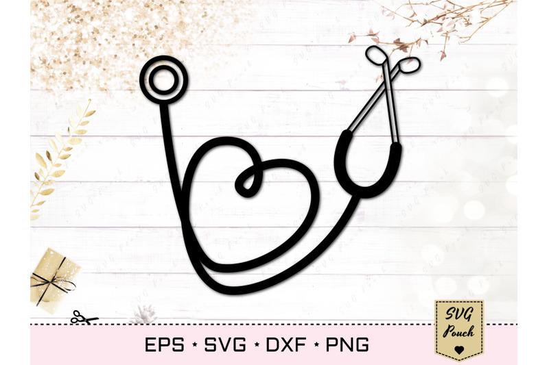 stethoscope-heart-svg