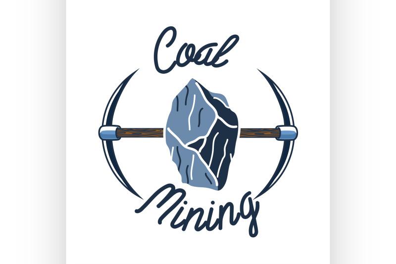 color-vintage-coal-mining-emblem