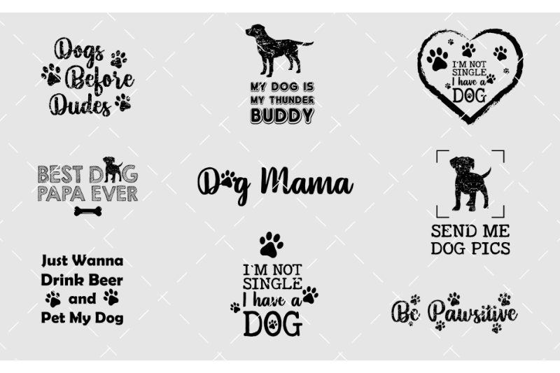 dog-t-shirt-design-bundle