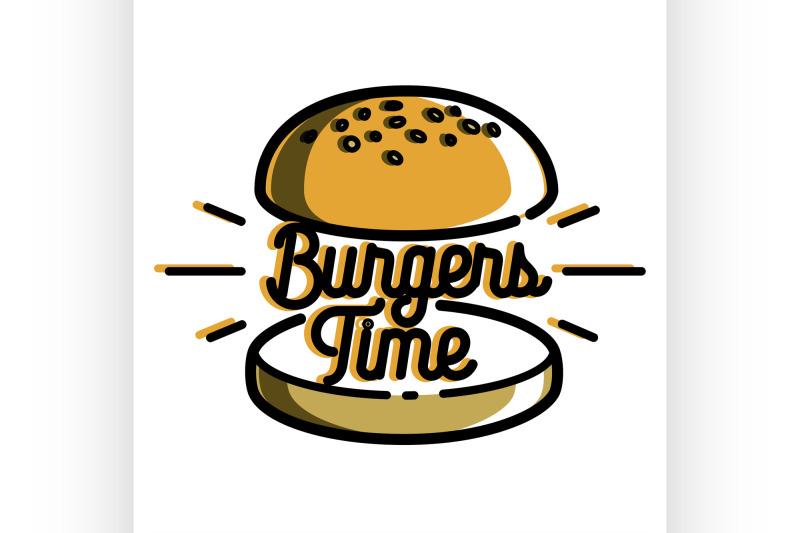 color-vintage-fast-food-emblem