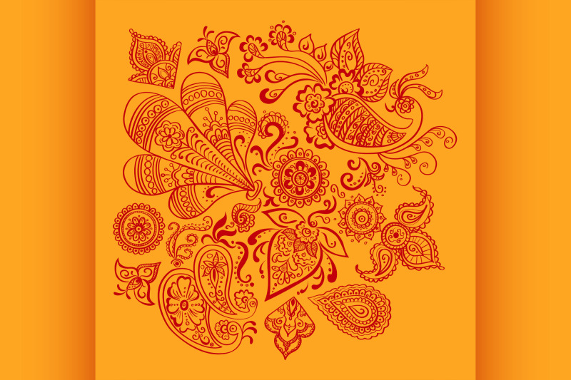 indian-floral-ornament