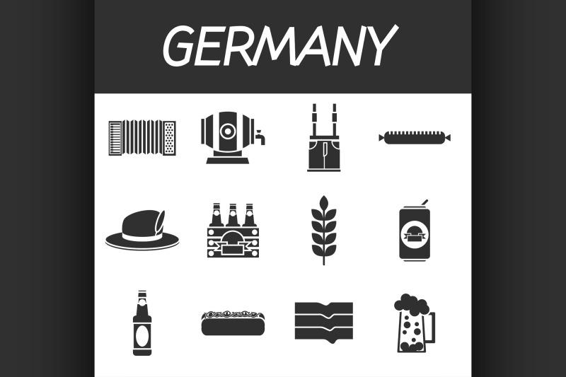 germany-icons-set