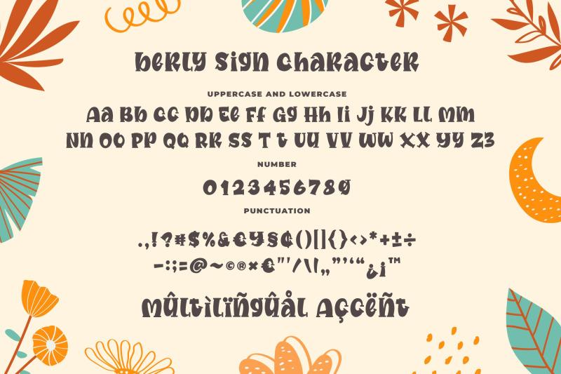 berly-sign-a-cute-serif-font