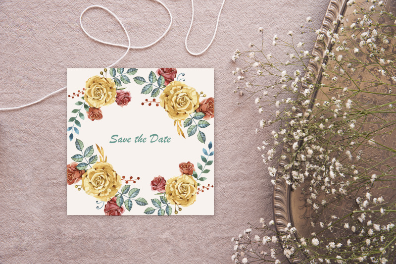 watercolor-blush-and-gold-roses
