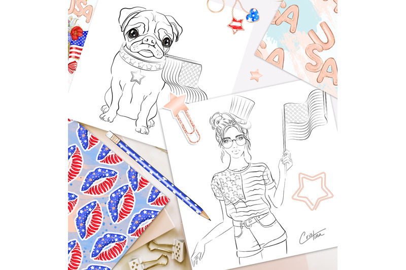 4th-of-july-coloring-pages