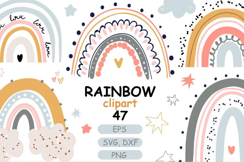 cute-pastel-rainbow-baby-clipart