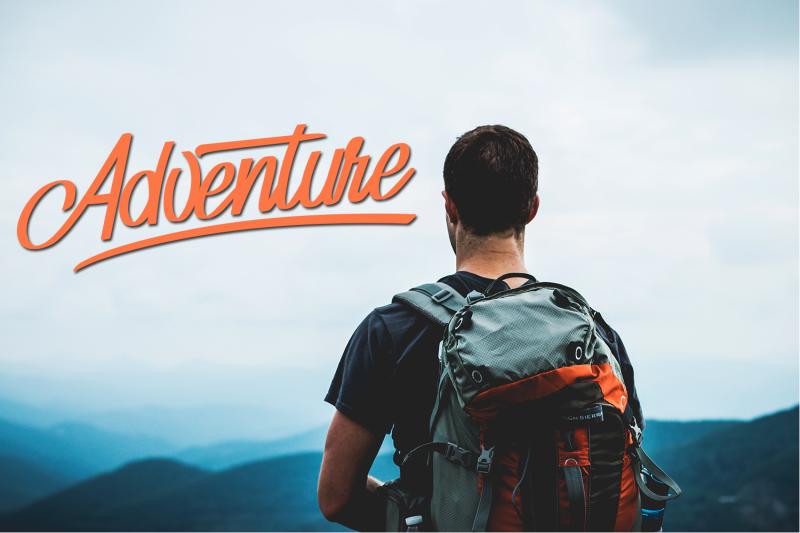 adventure-typeface