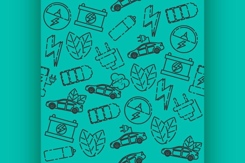 electric-car-pattern